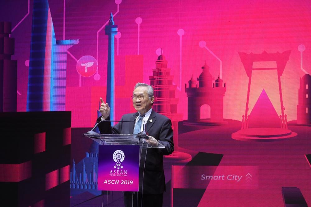 ดอน ปรมัตถ์วินัย ประธานเปิดงาน ASCN 2019