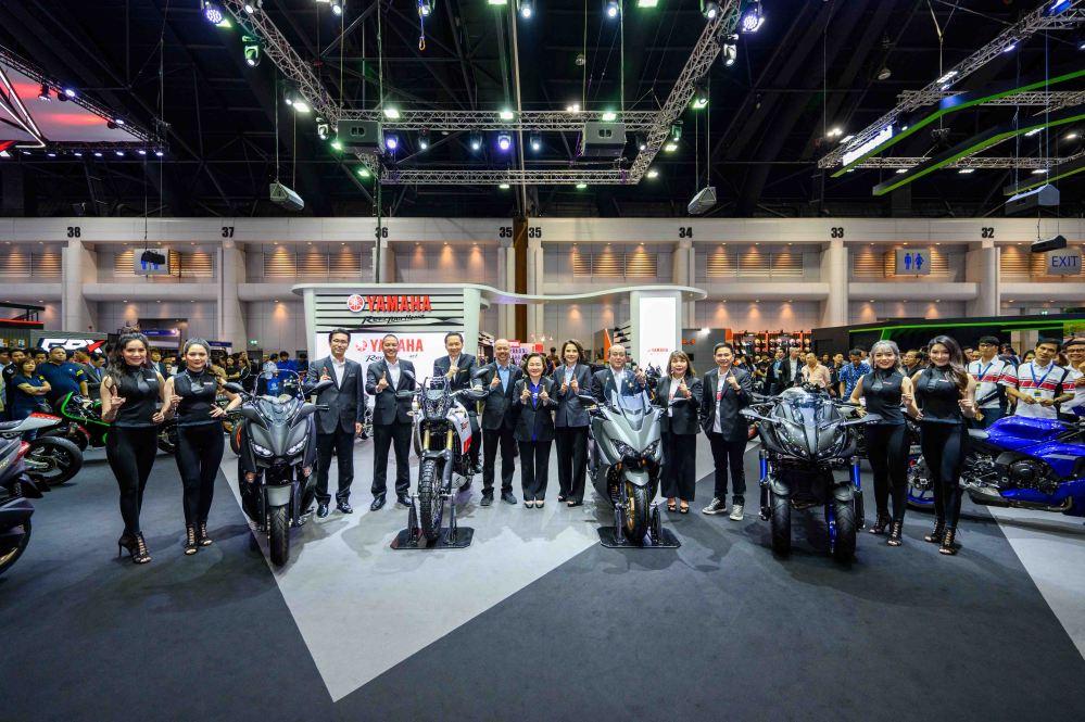 01 ยามาฮ่าเปิดบูธในงานมอเตอร์เอ็กซ์โป 2019 พร้อมเปิดตัว Tenere 700 และ TMAX 560 อย่างยิ่งใหญ่