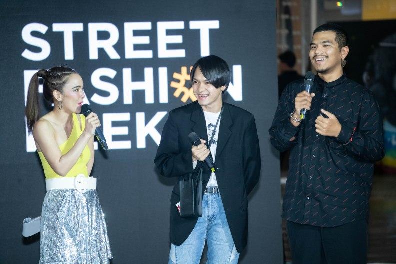 15_พิธีกรสัมภาษณ์ผู้ชนะเลิศโครงการ Street Fashion Stylist Award 2018