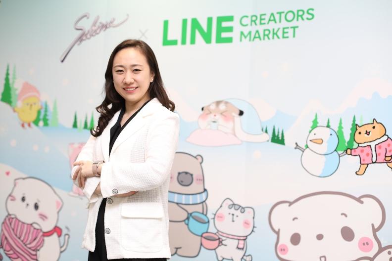 อิสรี ดำรงพิทักษ์กุล หัวหน้าธุรกิจ LINE STICKERS, LINE ประเทศไทย