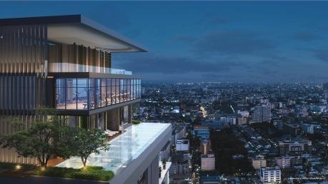 Exterior City Top View