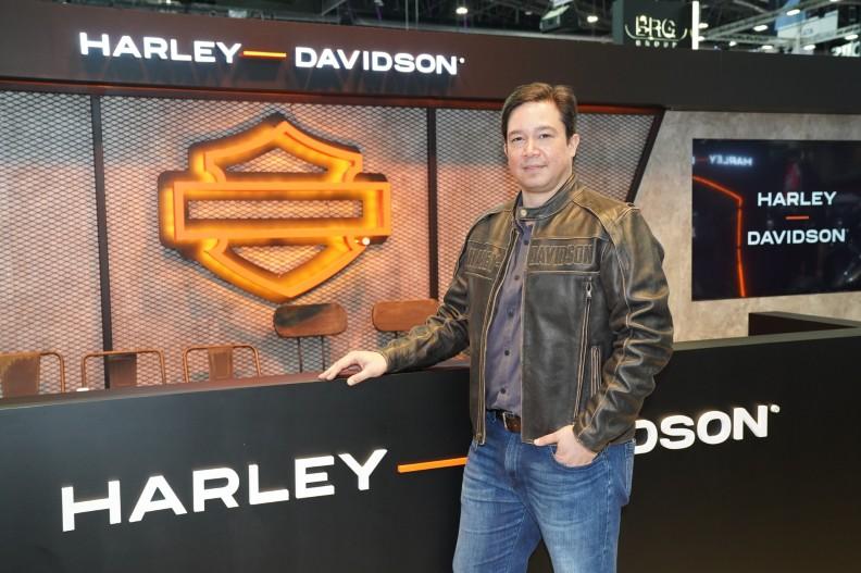 Mr. Johan Kleinsteuber, Managing Director, Harley-Davison Asia Emerging Markets - มร. โยฮัน ไคลน์ชตอยเบอร์ กรรมการผู้จัดการ ฮาร์ลีย์-เดวิดสัน™ ตลาดเกิดใหม่ในเอเชีย
