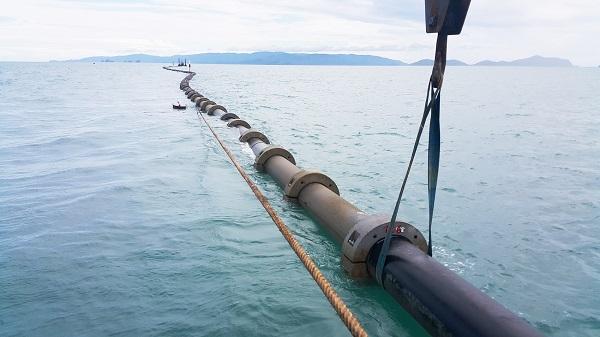 9_PE112 ที่ใช้ในการผลิตท่อส่งน้ำประปาลอดใต้ทะเล