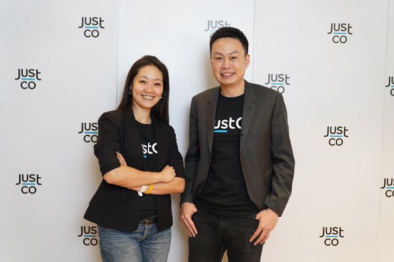 (ขวา)มร.คง วัน ลง, ผู้ก่อตั้งร่วมและซีซีโอ, จัสโค (ซ้าย)คุณวิมลนิตย์ เลิศพิทักษ์กิจ, ผู้จัดการทั่วไป จัสโค (ประเทศไทย)
