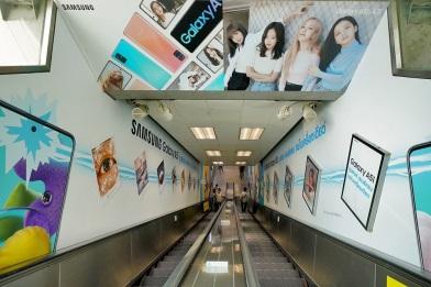 บันได ทางออก 3 MRT สถานีสวนจตุจักร (1)