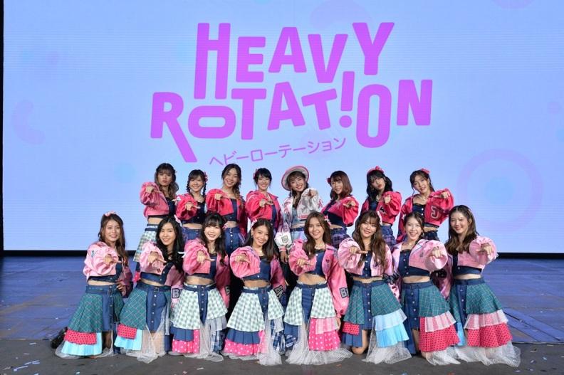 Senbatsu 16 ท่านกับเพลง Heavy Rotation