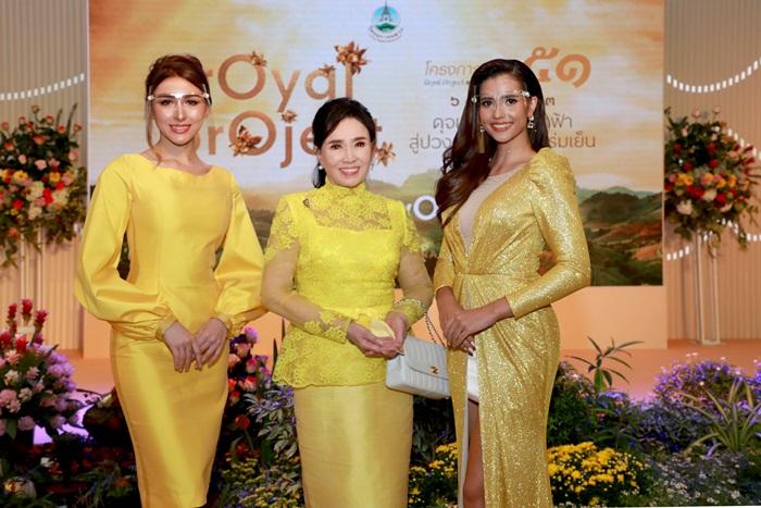 12 เปมิกา ปาสิเนตตี้ Miss Grand Thailand 2017, อาภัสรา หงสกุล, แอนโทเนีย โพซิ้ว Miss Supranational 2019